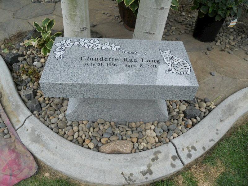 Granite Bench Memorials Wylie Monuments